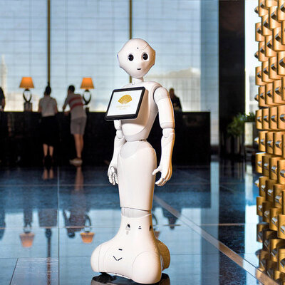 hotel robots