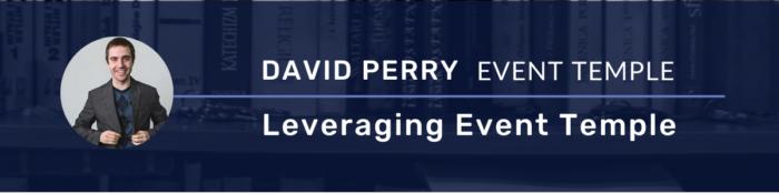 David Perry Event Temple Mentorship Program