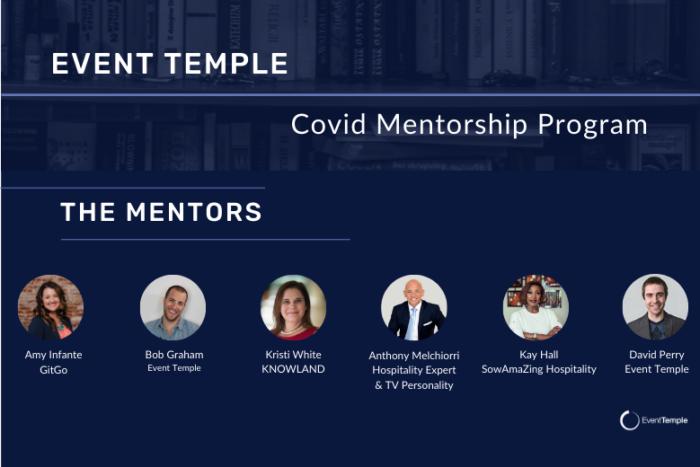 Event Temple Covid Mentorship Program